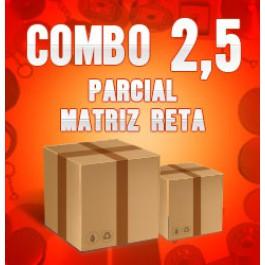 Combo 2,5 parcial (Matriz Reta)