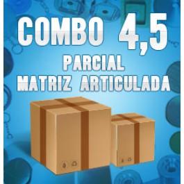 Combo 4,5 parcial (matriz articulada)