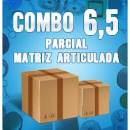 Combo 6,5 parcial (matriz articulada)