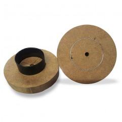 Faca de corte para botton sem suporte e pino