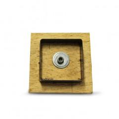Faca de corte para botton quadrado 5,1cm (quad 61,6)