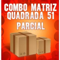 Combo Matriz quadrada 51 (Matriz Reta)