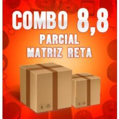 Combo 8,8 parcial (Matriz Reta)