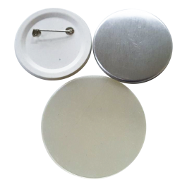 Kit de bottons com alfinete Importado pct 100un