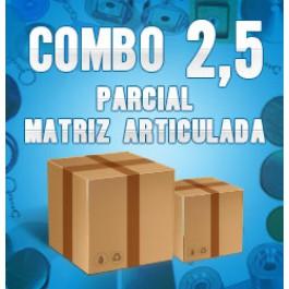 Combo 2,5 parcial (matriz articulada)