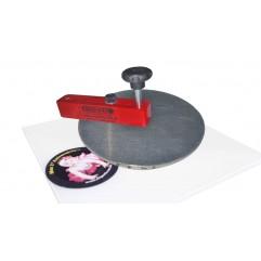 Cortador giratório especial (diâmetro 200 a 345 ) PP 5x195x195 mm (sem disco de apoio e sem base)