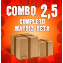 Combo 2,5 (matriz reta) - CHR1