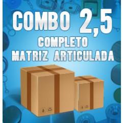 Combo 2,5 (matriz articulada) - CHA2