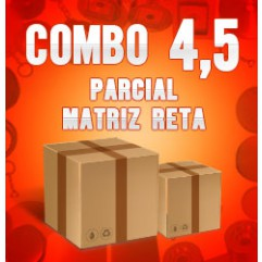 Combo 4,5 parcial (matriz reta)